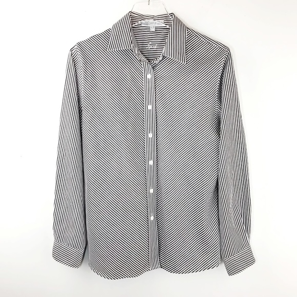 dd2aa06c5 Foxcroft Tops | Wrinkle Free Shaped Fit Button Down Shirt | Poshmark